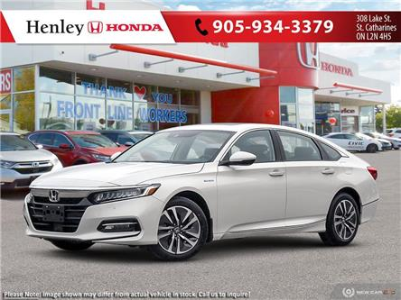 2020 Honda Accord Hybrid Touring (Stk: H18822) in St. Catharines - Image 1 of 21