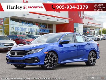 2020 Honda Civic Sport (Stk: H19218) in St. Catharines - Image 1 of 23