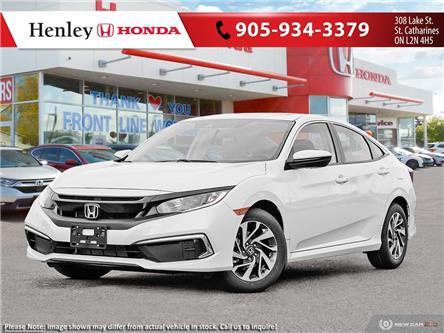 2020 Honda Civic EX (Stk: H19139) in St. Catharines - Image 1 of 23