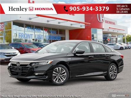 2020 Honda Accord Hybrid Base (Stk: H18968) in St. Catharines - Image 1 of 23