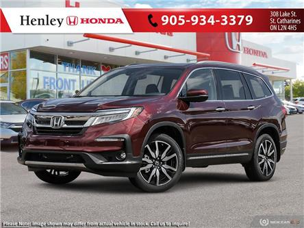 2021 Honda Pilot Touring 8P (Stk: H19280) in St. Catharines - Image 1 of 23