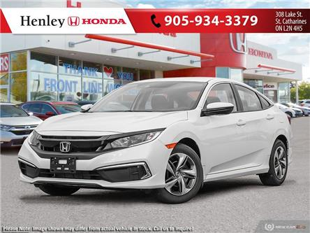 2020 Honda Civic LX (Stk: H19144) in St. Catharines - Image 1 of 23