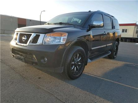 2012 Nissan Armada Platinum Edition (Stk: A20321A) in Ottawa - Image 1 of 53