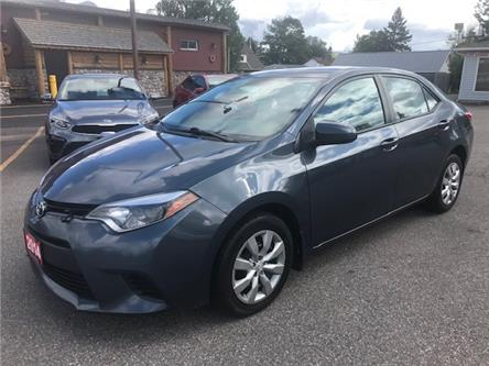 2014 Toyota Corolla LE (Stk: ) in Sault Ste. Marie - Image 1 of 23