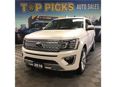 2018 Ford Expedition Platinum (Stk: A01878) in NORTH BAY - Image 1 of 28