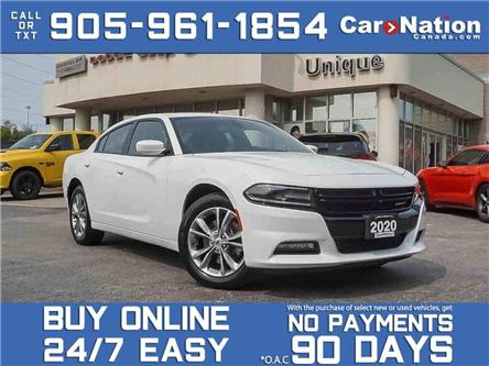 2020 Dodge Charger SXT| AWD| LEATHER| SUNROOF| NAVI| (Stk: DRD3409) in Burlington - Image 1 of 32
