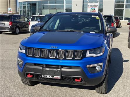 2021 Jeep Compass Trailhawk (Stk: N04825) in Chatham - Image 1 of 17