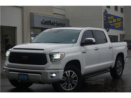2019 Toyota Tundra Platinum 5.7L V8 (Stk: 20-239A) in Salmon Arm - Image 1 of 26