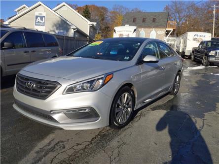 2016 Hyundai Sonata Sport Tech (Stk: ) in Dartmouth - Image 1 of 22