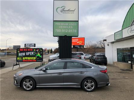 2018 Hyundai Sonata GLS Tech (Stk: HW1023) in Edmonton - Image 1 of 24