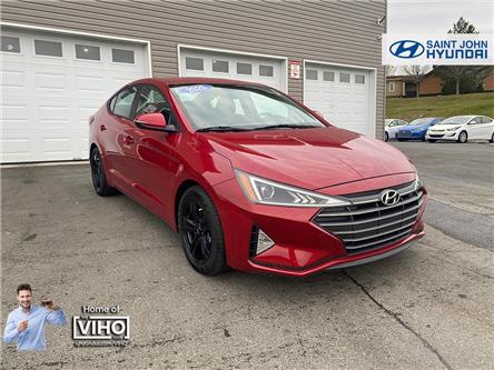 2020 Hyundai Elantra Preferred (Stk: U2981) in Saint John - Image 1 of 20
