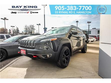 2017 Jeep Cherokee Trailhawk (Stk: 217514A) in Hamilton - Image 1 of 28