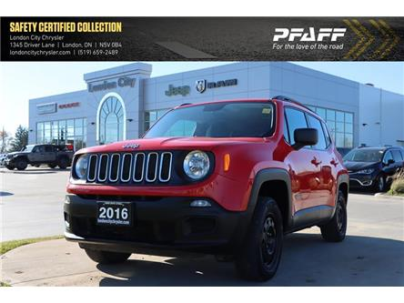 2016 Jeep Renegade Sport (Stk: LC2765A) in London - Image 1 of 22