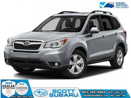 2015 Subaru Forester 2.5i Convenience Package (Stk: 02387U) in Red Deer - Image 1 of 2