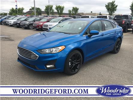 2019 Ford Fusion SE (Stk: K-728) in Calgary - Image 1 of 6