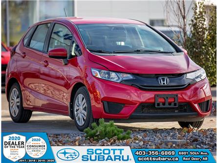 2015 Honda Fit LX (Stk: 03314U) in Red Deer - Image 1 of 14