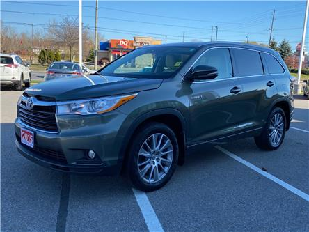 2015 Toyota Highlander Hybrid XLE (Stk: TX042A) in Cobourg - Image 1 of 27