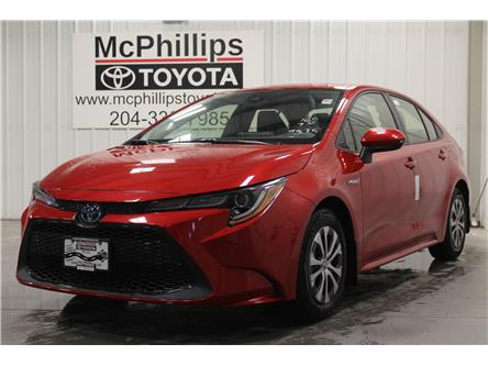 2021 Toyota Corolla Hybrid Base (Stk: J032705) in Winnipeg - Image 1 of 19