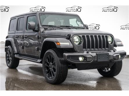 2021 Jeep Wrangler Unlimited Sahara (Stk: 44233) in Innisfil - Image 1 of 27
