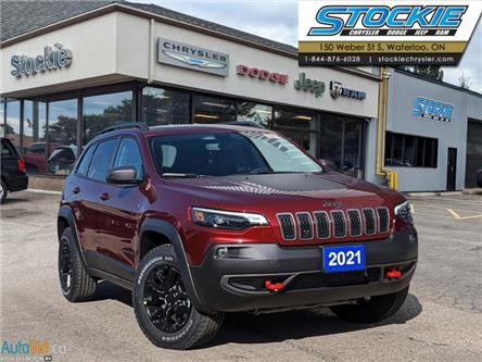 2021 Jeep Cherokee Trailhawk (Stk: 35262) in Waterloo - Image 1 of 15