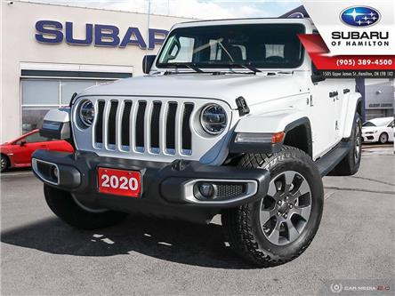 2020 Jeep Wrangler Unlimited Sahara (Stk: U1580) in Hamilton - Image 1 of 25