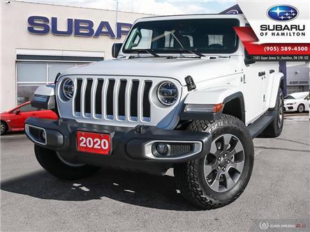 2020 Jeep Wrangler Unlimited Sahara (Stk: U1580) in Hamilton - Image 1 of 28
