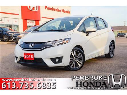 2016 Honda Fit EX-L Navi (Stk: 20234A) in Pembroke - Image 1 of 30