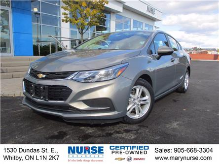 2017 Chevrolet Cruze LT Auto (Stk: 10X411) in Whitby - Image 1 of 25