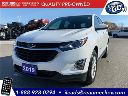 2019 Chevrolet Equinox LT (Stk: 20-0466A) in LaSalle - Image 1 of 26