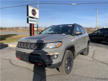 2021 Jeep Compass Trailhawk (Stk: 6639) in Sudbury - Image 1 of 21