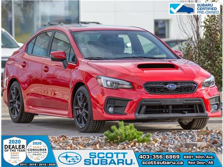 2020 Subaru WRX Sport-tech RS (Stk: 812189) in Red Deer - Image 1 of 18