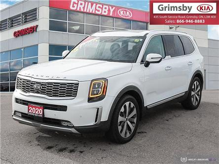 2020 Kia Telluride SX Limited AWD, Leather, Sunroof, JUST ARRIVED!! (Stk: D4073A) in Grimsby - Image 1 of 25