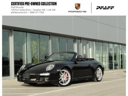 2011 Porsche 911 Carrera S Cabriolet PDK (Stk: U9167) in Vaughan - Image 1 of 21