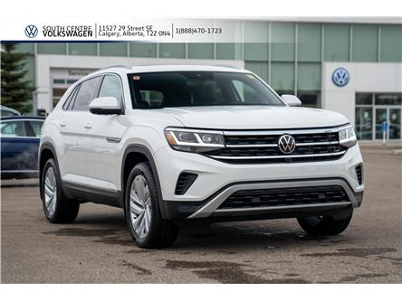 2020 Volkswagen Atlas Cross Sport 3.6 FSI Execline (Stk: 00221) in Calgary - Image 1 of 50