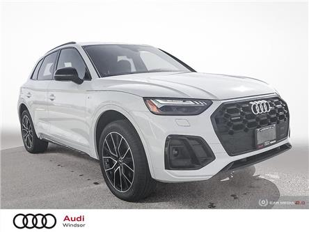 2021 Audi Q5 45 Technik (Stk: 21022) in Windsor - Image 1 of 30