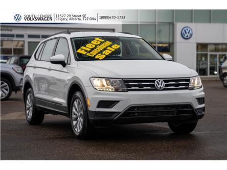 2020 Volkswagen Tiguan Trendline (Stk: 00240) in Calgary - Image 1 of 40