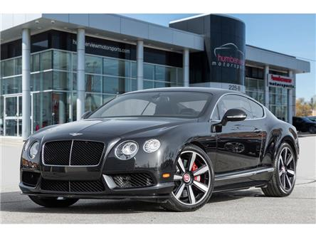 2014 Bentley Continental GT GT|NAVIGATION|BACKUP CAM|VENTED SEATS|500HP!! (Stk: 94083) in Mississauga - Image 1 of 31