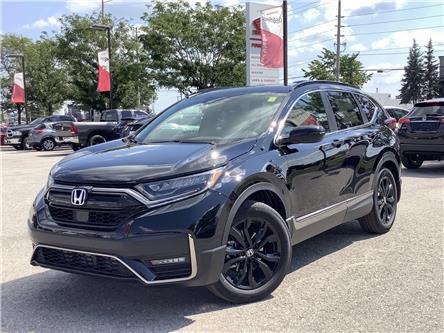 2021 Honda CR-V Black Edition (Stk: 21046) in Barrie - Image 1 of 30