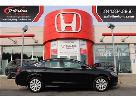 2016 Chrysler 200 LX (Stk: 22386A) in Greater Sudbury - Image 1 of 32