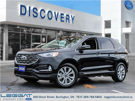 2020 Ford Edge Titanium (Stk: 20-64886-T) in Burlington - Image 1 of 27