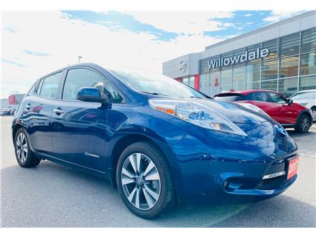 2017 Nissan LEAF SL (Stk: C35475) in Thornhill - Image 1 of 21