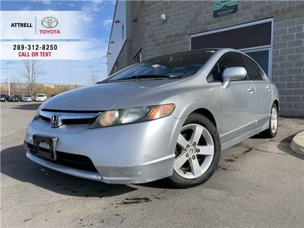 2006 Honda Civic Sedan LX ALLOY WHEELS, STEERING WHEEL CONTROLS, ABS, CRU (Stk: 48418A) in Brampton - Image 1 of 20