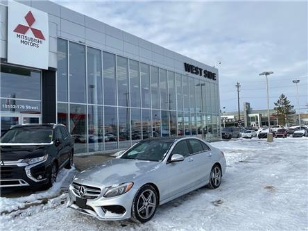 2016 Mercedes-Benz C-Class Base (Stk: K3348) in Edmonton - Image 1 of 26