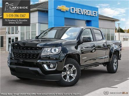 2021 Chevrolet Colorado Z71 (Stk: T1055) in Kincardine - Image 1 of 22