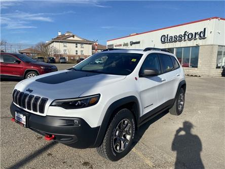 2021 Jeep Cherokee Trailhawk (Stk: 21-018) in Ingersoll - Image 1 of 21