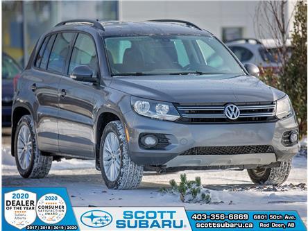 2015 Volkswagen Tiguan Trendline (Stk: 77081U) in Red Deer - Image 1 of 22