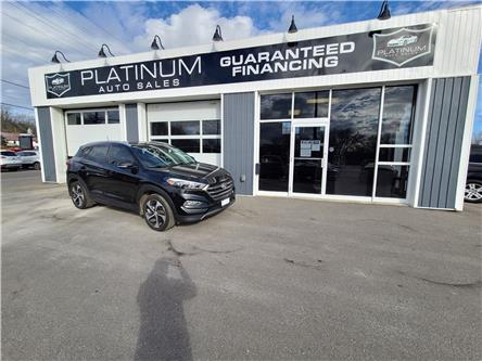 2016 Hyundai Tucson Premium 1.6 (Stk: 046322) in Kingston - Image 1 of 11