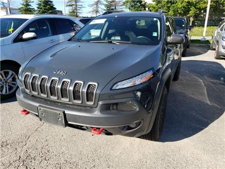 2017 Jeep Cherokee Trailhawk (Stk: U0458A) in Barrie - Image 1 of 6