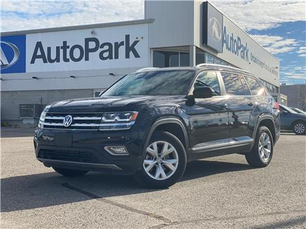 2019 Volkswagen Atlas 3.6 FSI Highline (Stk: 19-41788RJB) in Barrie - Image 1 of 31