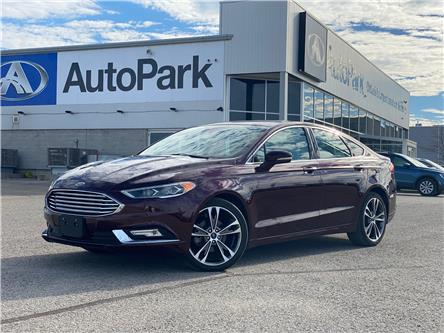 2017 Ford Fusion Titanium (Stk: 17-02392JB) in Barrie - Image 1 of 28